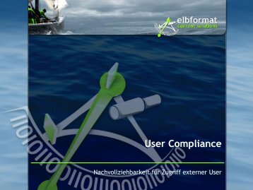 User Compliance im Extranet - Opentext Usergroup