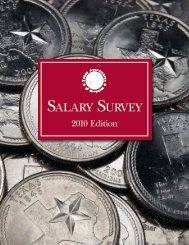 Salary Survey Book - Texas Association of Counties