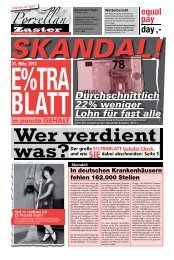 E%trablatt - Equal Pay Day