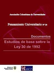 El financiamiento de la educación superior en Colombia - CNA