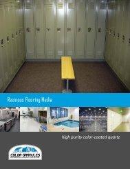 ColorGranules™ / Quartz Flooring Brochure & Color Chart