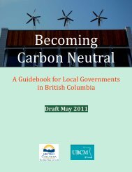 A Guidebook for Local Governments in British Columbia