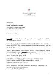 Publikationen Prof. Dr. med. Hans Paul Schobel Chefarzt, Innere ...