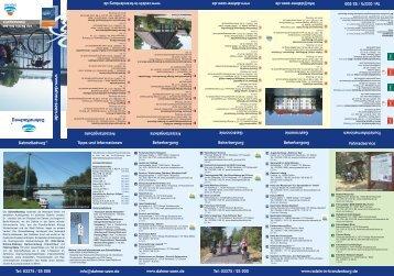 www .d ahm e-seen.de DahmeRadweg - Tourismusverband Dahme ...