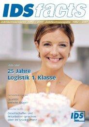 2007 Jubiläumsausgabe 1982 – 2007 - IDS Logistik GmbH