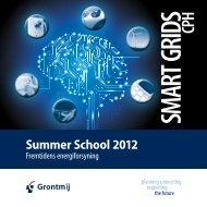 Ugeplan Summer School 2012 - Grontmij