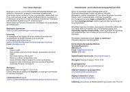 Victor Albeck Bygningen og Det Sundhedsvidenskabelige - Aarhus ...