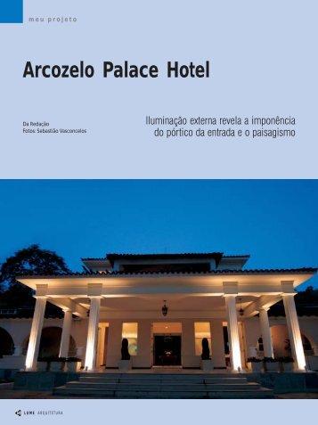 Arcozelo Palace Hotel - Lume Arquitetura