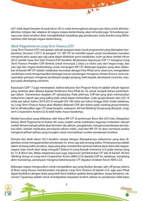 Pendanaan Perubahan Iklim - IESR