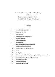 Satzung - BBS-Holzminden