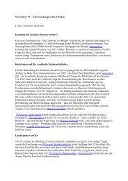 Newsletter 73 - Jüdische Stimme für einen gerechten Frieden ...