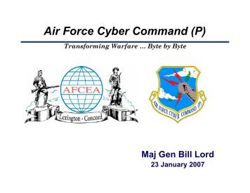 Air Force Cyber Command (P)