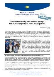 090702 Civilian aspects of crisis management - version ... - Europa