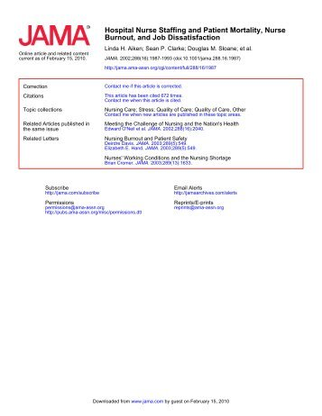 Aiken_2002 - Emergency Nurses Association