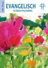 Ausgabe April/Juni/2013 - Evangelisch in Übach-Palenberg