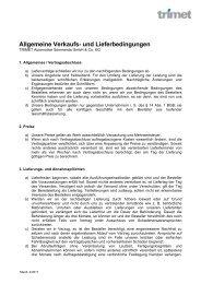 Allgemeine Verkaufs- und Lieferbedingungen, Sömmerda_2011
