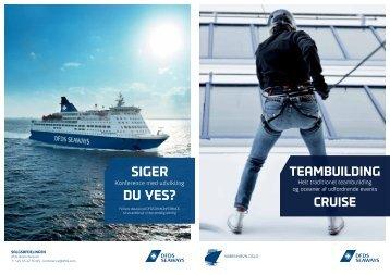 TeAMBuiLdinG? - DFDS Seaways