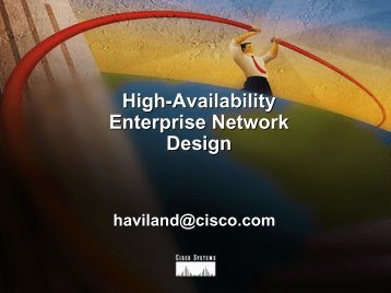 High-Availability Enterprise Network Design
