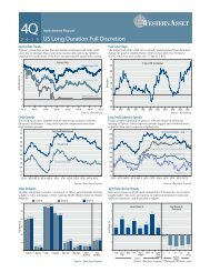 US Long Duration Full Discretion - Western Asset