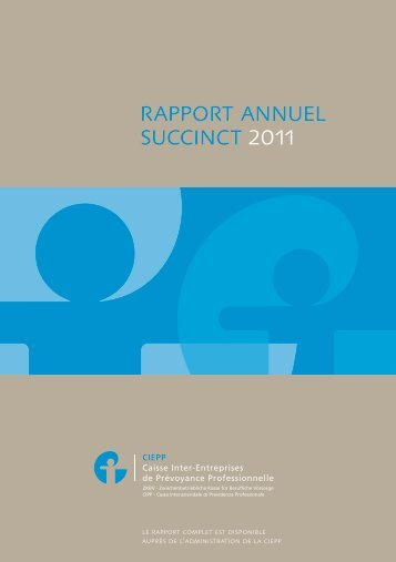 rapport annuel succinct 2011