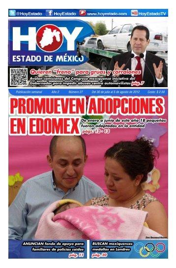 """Quieren """"freno"""" para grúas y corralones - HOY Estado de México"""