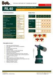 Technical sheet - Tu-val