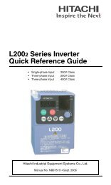 Quick Reference L200-2 - Esco Drives & Automation
