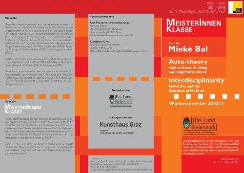 Mieke Bal - Gesundheitsserver - Land Steiermark