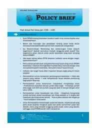 Policy Brief No 3.pdf - Kebijakan Kesehatan Indonesia