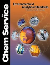 Download Catalog - Chem Service