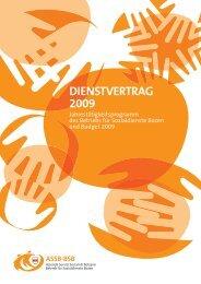 DIENSTVERTRAG 2009 - Betrieb für Sozialdienste Bozen