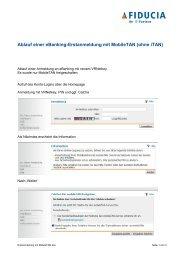 Erstanmeldung mit Mobile TAN - Volksbank Immenstadt