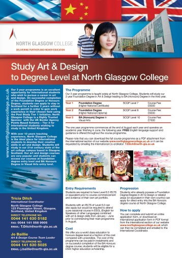Study Art & Design - Study in the UK
