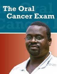 Oncology: African American Men Examination - Roswell Periodontics