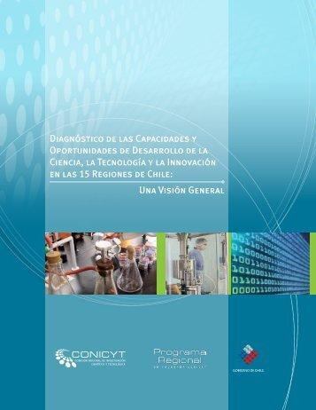 Diagnóstico de las Capacidades y Oportunidades de ... - Conicyt