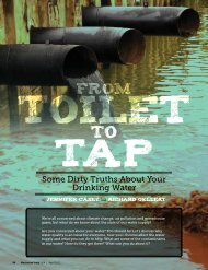 Some Dirty Truths About Your Drinking Water - Hydro-Logic