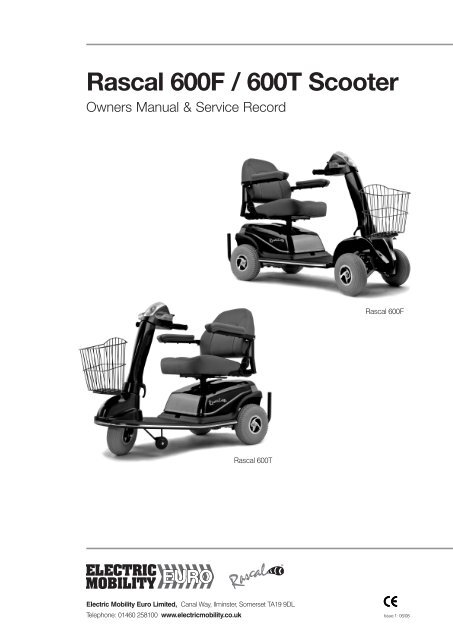 Rascal 600T Scooter - Dolphin Mobility on