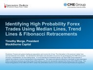 Identifying High Probability Forex Trades Using Median Lines, Trend ...