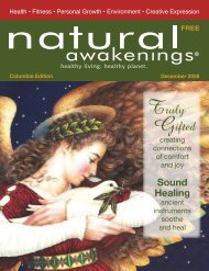 December 2008: Holiday Giving - Columbia Natural Awakenings ...