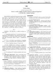 vyhlášky č. 499/2005 Sb.