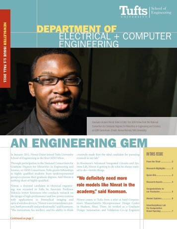 Fall 2011 - Department of Electrical & Computer Engineering - Tufts ...