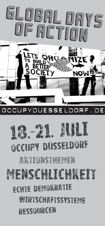 18.-21. juli - Occupy Düsseldorf