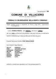 Deliberazione della Giunta Comunale n. 50 del 30.04.2013 con ...