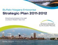 Strategic Plan 2011-2012 - Buffalo Niagara Enterprise