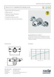 Technical Datasheet - Rada