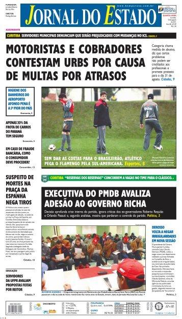 motoristas e cobradores contestam urbs por causa de ... - Bem Paraná