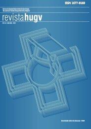 Revista HUGV 2012 - Hospital Universitário Getúlio Vargas - Ufam