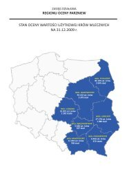 krajowe centrum hodowli zwierzt w warszawie - Polska Federacja ...