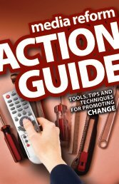 Media Reform Action Guide - Free Press