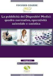 La pubblicità dei Dispositivi Medici: quadro normativo ... - Assogenerici